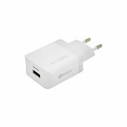 KUĆNI PUNJAČ +CLASS USB QC30 FAST BIJELI