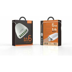 KUĆNI PUNJAČ LDNIO A6573 6*USB (5.4 A)