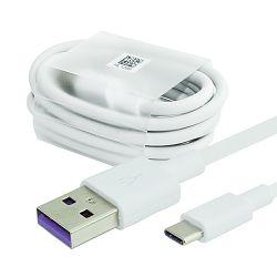 USB KABEL ORIGINAL ZA HUAWEI AP71, HL1289, LX1289 3.1A FAST TIP C BIJELI BULK