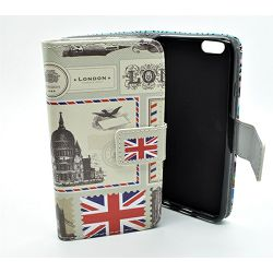 TORBICA +CLASS FLIP H PRINT ZA APPLE IPHONE 5/5S VELIKA BRITANIJA