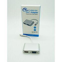 ADAPTER TIP C NA HDMI I VGA