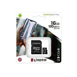 MEMORIJSKA KARTICA KINGSTON MIKRO SD 16 GB, SDCS2/16GB BLISTER