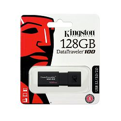 USB MEMORIJA KINGSTON 3.0 DT100 128GB BLISTER