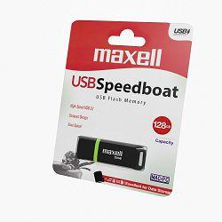 USB MEMORIJA MAXELL SPEEDBOAT 3.1 128GB CRNA BLISTER