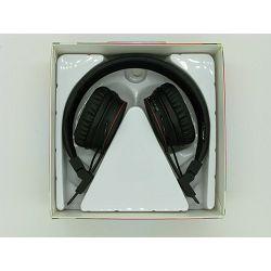 SLUŠALICE STEREO S MIKROFONOM X2 BLUETOOTH, FM, MP3, MIKRO SD CRNE