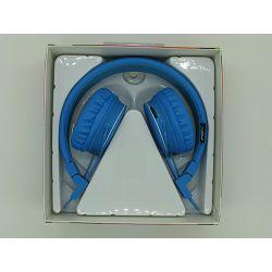 SLUŠALICE STEREO S MIKROFONOM X2 BLUETOOTH, FM, MP3, MIKRO SD PLAVE