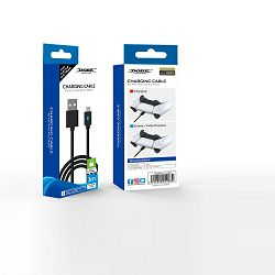 USB KABEL TIP C ZA PS5, XBOX, NINTENDO SWITCH KONTROLER DOBE 3 m CRNI TY-0803