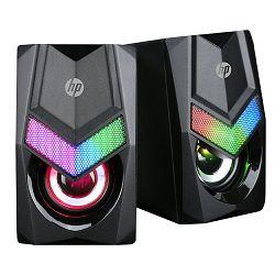 ZVUČNICI HP DHE-6000 3.5 mm LED CRNI