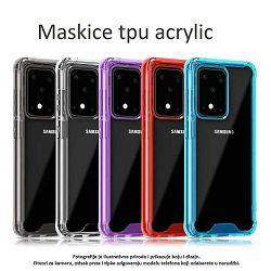 MASKICA +CLASS TPU ACRYLIC ZA APPLE IPHONE X, IPHONE XS LJUBIČASTA